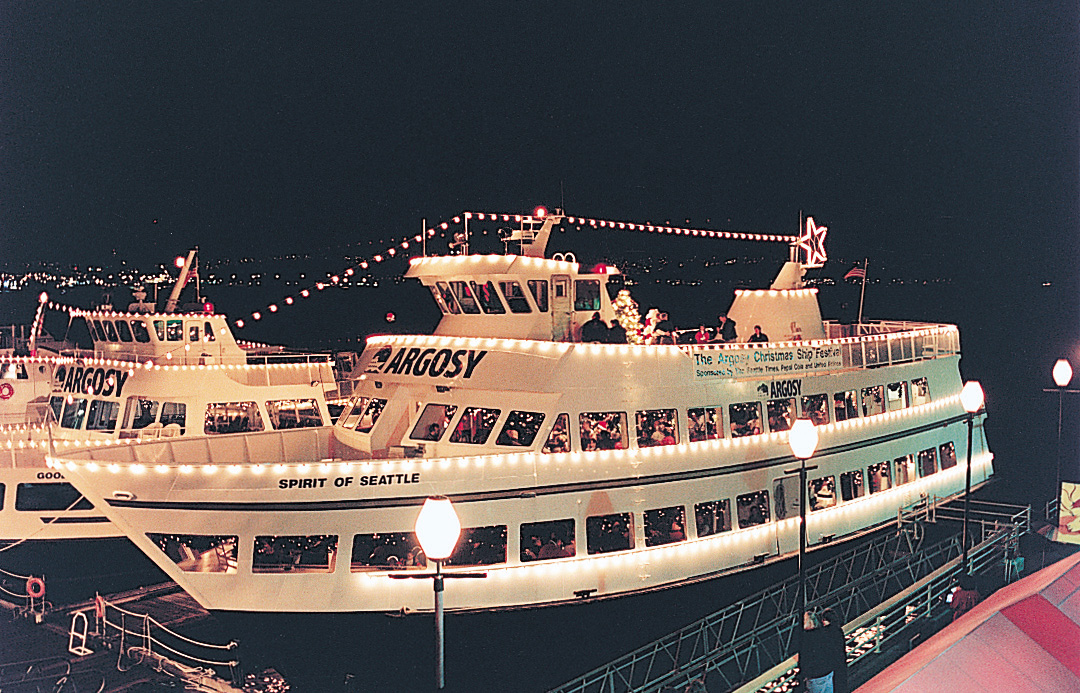Argosy Christmas Cruise Dock Street Marina
